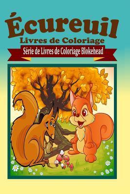 �cureuil Livres de Coloriage