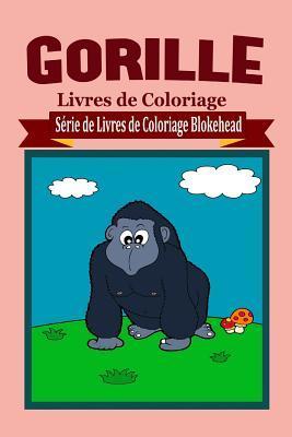 Gorille Livres de Coloriage