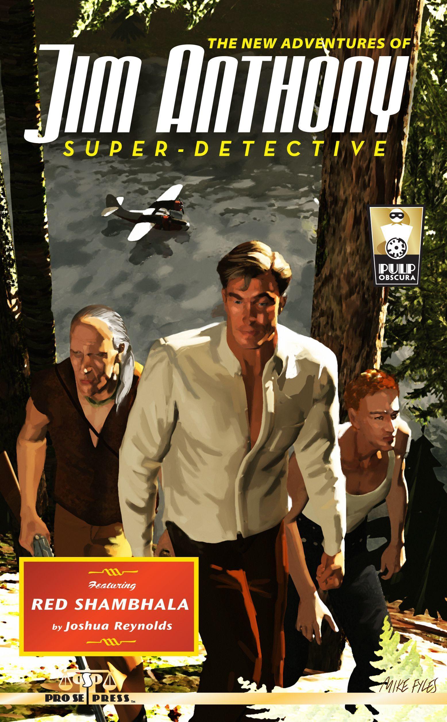 The New Adventures Of Jim Anthony, Super-Detective: Red Shambhala