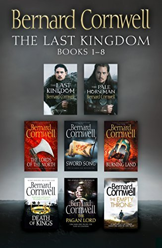 The Last Kingdom 8 Book Set (The Last Kingdom, The Pale Horseman, Lords of the North, Sword Song, The Burning Land, The Death of Kings, The Pagan Lord, The Empty Throne)
