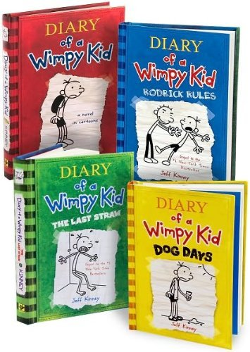 Diary of a Wimpy Kid: #1-4