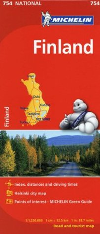 Michelin Finland Map 754 (Maps/Country