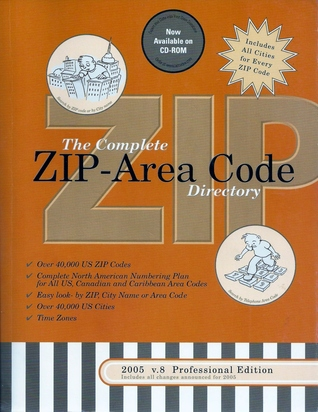2005 Complete US ZipArea Code Directory 3 Way Easy Lookup For All