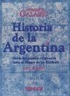 Historia de la Argentina - Tomo I