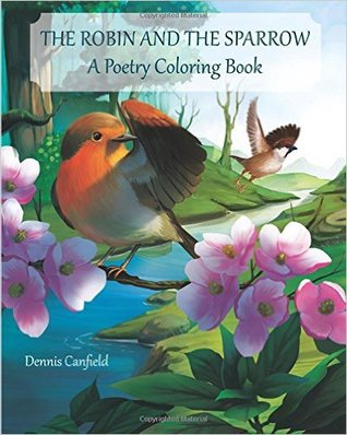 The Robin and the Sparrow: A Poetry Coloring Book