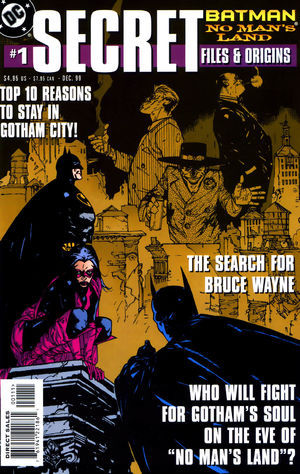 Batman: No Man's Land Secret Files and Origins