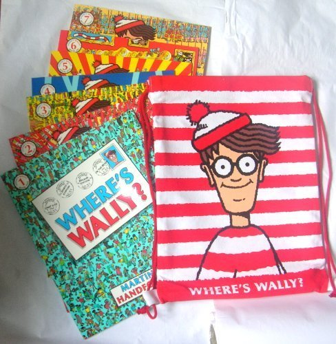 Where's Wally Collection: 7 Books in Kitbag: Where's Wally, Where's Wally Fantastic Journey, Where's Wally In Hollywood, Where's Wally Now, Where's Wally Wonder Book, The Great Picture Hunt, The Incredible Paper Chase