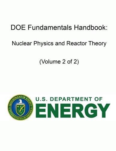 Doe Fundamentals Handbook: Nuclear Physics and Reactor Theory (Volume 2 of 2)