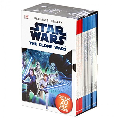 Star Wars Readers Ultimate Library Collection 20 Books Box Gift Set