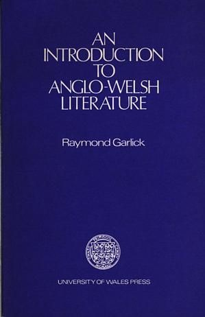 An Introduction To Anglo-Welsh Literature