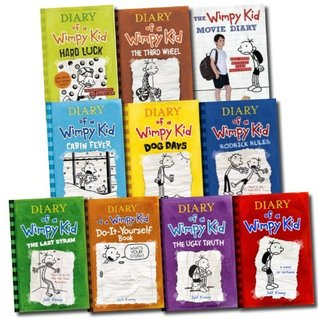 Jeff kinney 10 books set diary of a wimpy kid collection hard luck 26828057 solutioingenieria