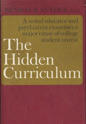 the hidden curriculum Phillip jackson (1968) is generally acknowledged as the originator of the term hidden curriculum in his book life in classrooms through observations of public grade school classrooms, jackson identified features of classroom life that were inherent in the social relations of schooling.