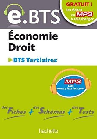 E.BTS, Economie Droit