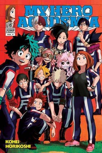 My Hero Academia, Vol. 4 (My Hero Academia, #4)