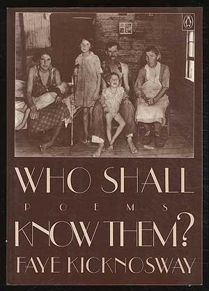 Who Shall Know Them?