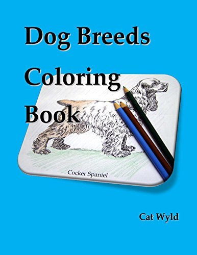 Dog Breeds Coloring Book