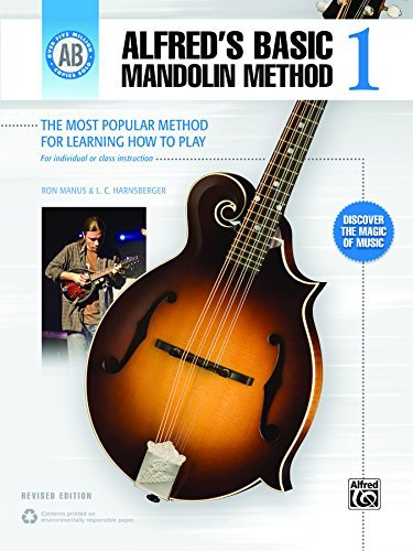 Alfred's Basic Mandolin Method 1 (Revised): The Most Popular Method for Learning How to Play (Mandolin)