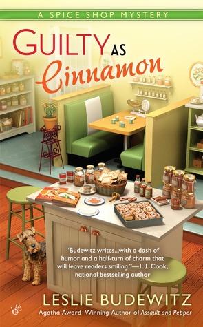 Guilty as Cinnamon (A Spice Shop Mystery, #2)