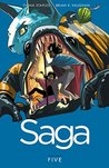 Saga Volume 5 by Brian K. Vaughan