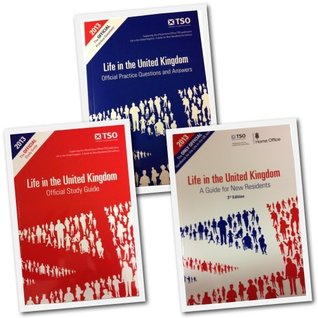 Life in the United Kingdom Citizenship Test 2013 3rd Edition 3 Books Complete Collection