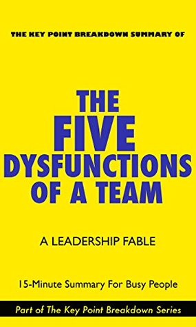 The Five Dysfunctions Of A Team | 15-Minute Summary For Busy People