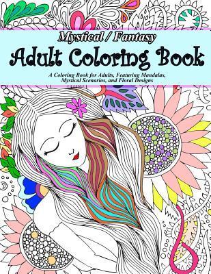 Mystical/Fantasy Adult Coloring Book