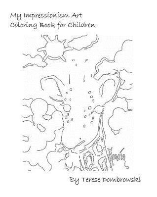 My Impressionism Art Coloring Book For Children