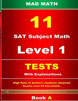 SAT Subject Math Level 1 Tests 11 Book a