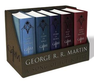 A Song of Ice and Fire, Leather-Cloth Boxed Set (A Song of Ice and Fire, #1-5)