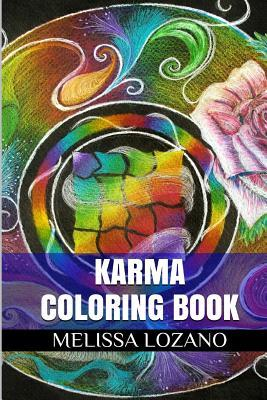 Karma Coloring Book: Inspirational Experience and Indian Mandala Adult Coloring Book