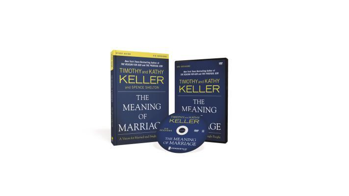 The Meaning of Marriage Study Guide with DVD: A Vision for Married and Single People
