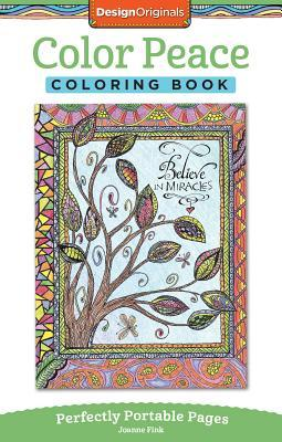 Color Peace Coloring Book: Perfectly Portable Pages