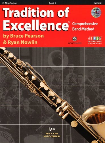 W61CLE - Tradition of Excellence Book 1 Eb Alto Clarinet