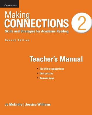 Making Connections Level 2 Teacher's Manual: Skills and Strategies for Academic Reading