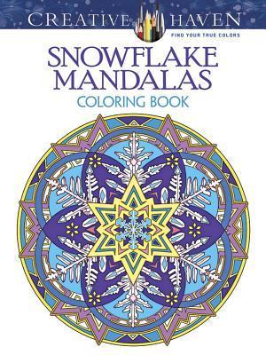 Creative Haven Snowflake Mandalas Coloring Book By Marty Noble