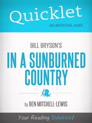 Quicklet on Bill Bryson's In a Sunburned Country (CliffNotes-like Summary)