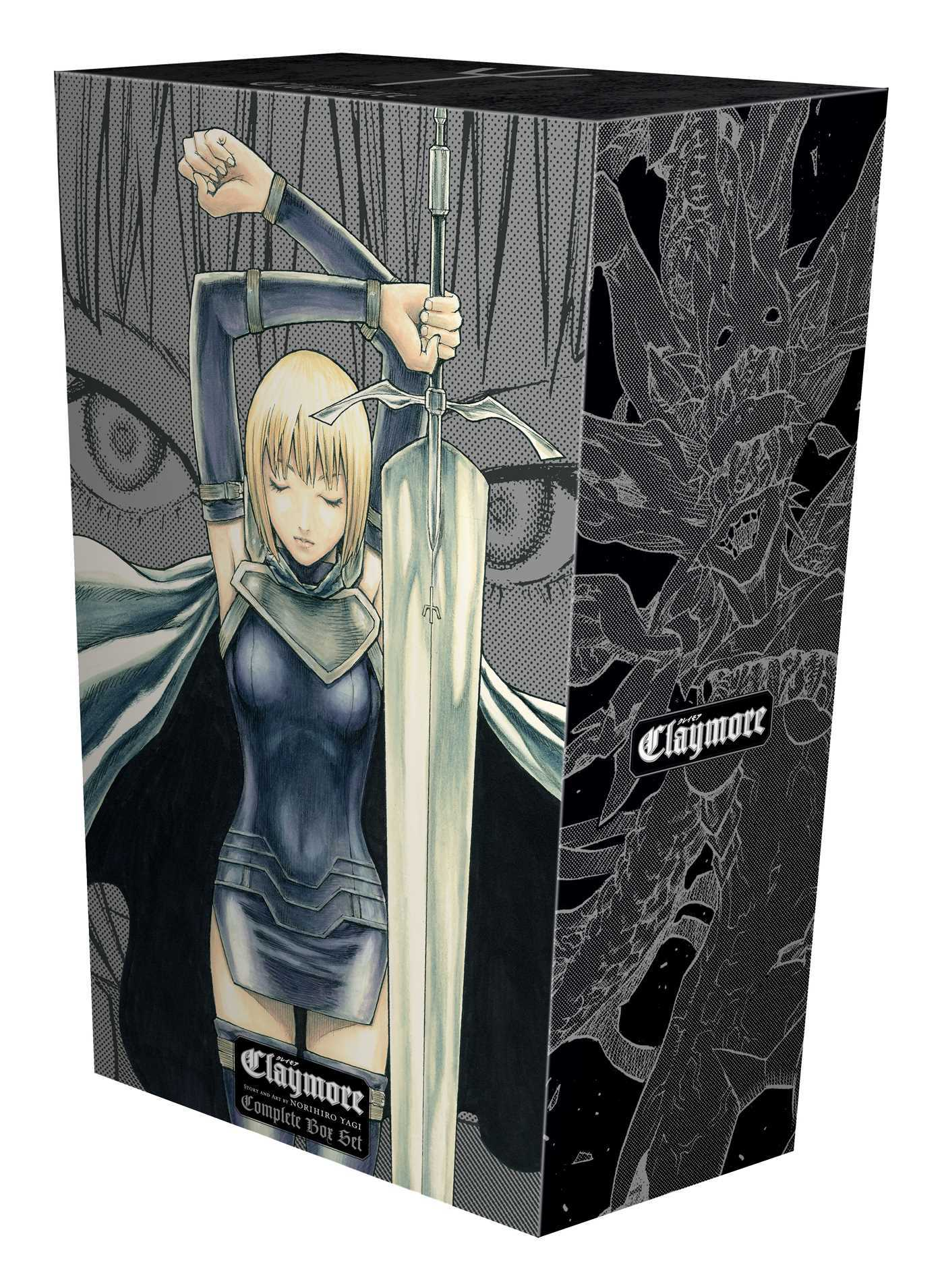 Claymore Complete Box Set: Volumes 1-27 with Premium