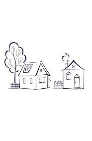 Las dos casas de Olivos