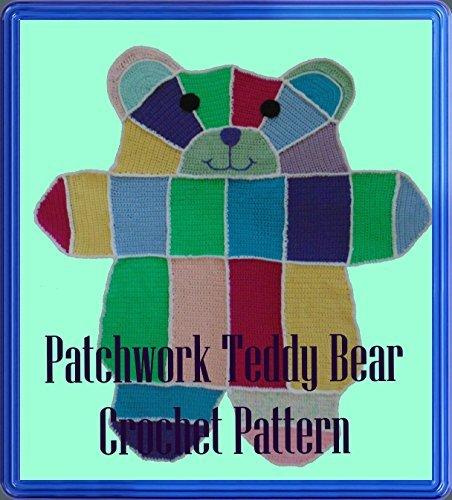 Patchwork Teddy Bear Crochet Pattern