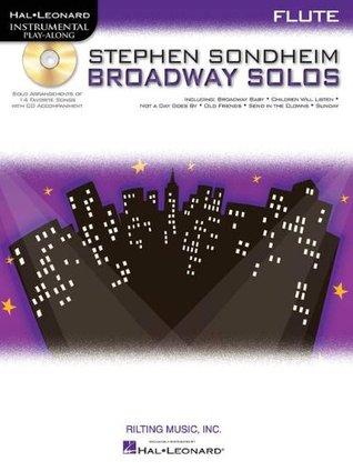 Sondheim Broadway Solos Flute Book/CD Play-Along (Hal Leonard Instrumental Play-Along)