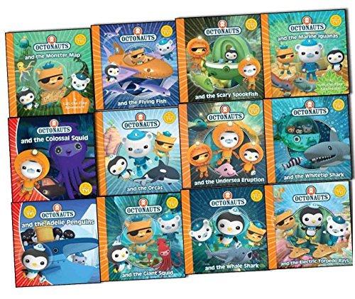 Meomi Octonauts Collection 12 Books Set