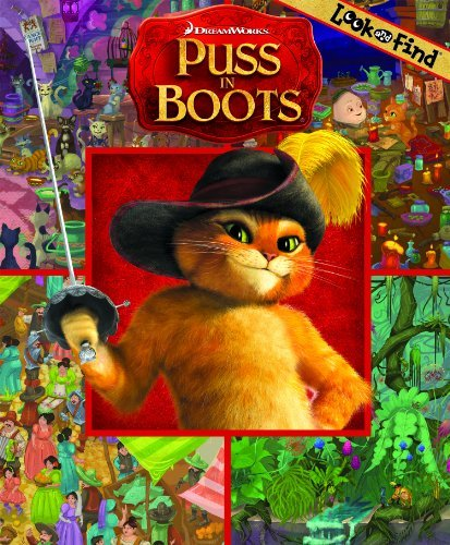 Look and Find DreamWorks Puss in Boots