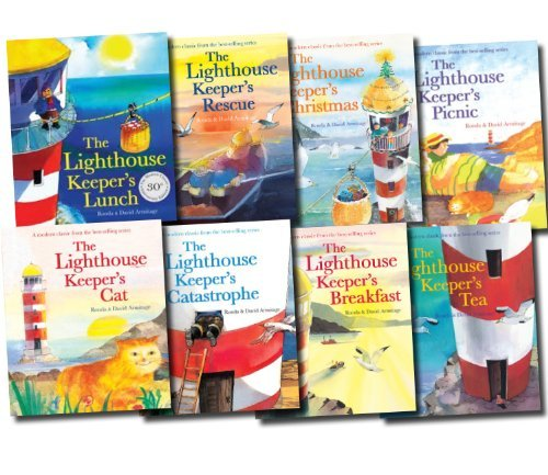The Lighthouse Keeper's Lunch Collection 8 Books Set