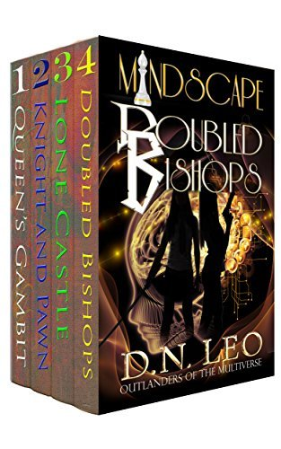 Queen's Gambit - Knight and Pawn - Lone Castle - Doubled Bishops: Supernatural suspense thriller series - Books 1-2-3-4 (Mindscape Book 11)