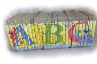 Sesame Street Alphabet ABC's Puzzle Board Books - The Letter I