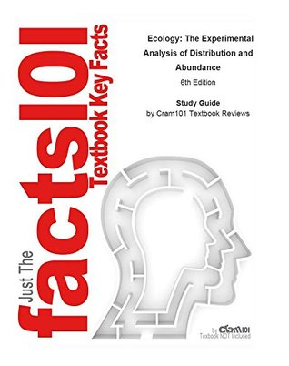 e-Study Guide for: Ecology: The Experimental Analysis of Distribution and Abundance by Charles J. Krebs, ISBN 9780321507433
