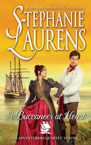 A Buccaneer at Heart (The Adventurers Quartet, #2)