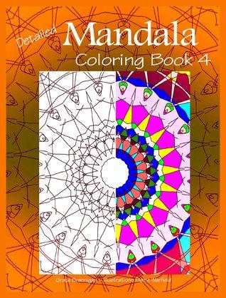 Detailed Mandala Coloring Book 4