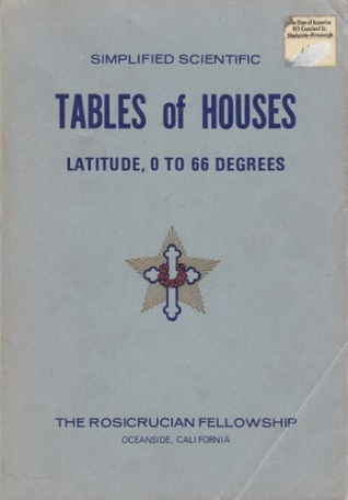 Tables of Houses: Latitude, 0 to 66 Degrees