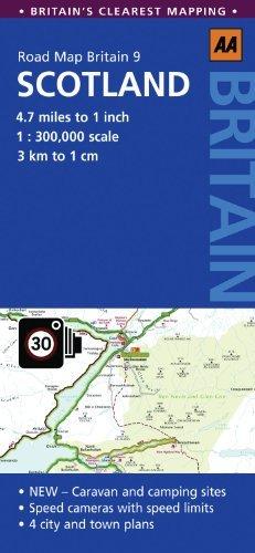 Road Map Scotland